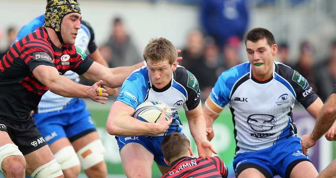 Eoin Griffin: Signed a two-year deal with London Irish