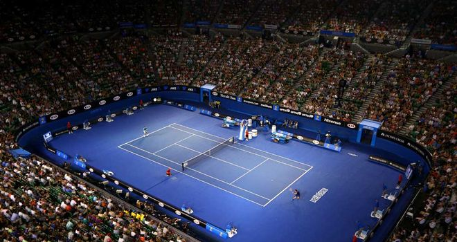 The Rod Laver Arena at Melbourne Park