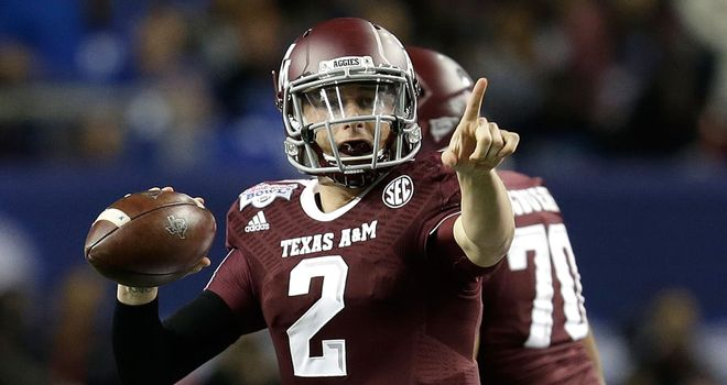 Johnny Manziel: The 2012 Heisman Trophy winner is heading for the NFL
