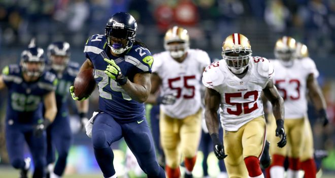 Marshawn Lynch: Sparked Seahawks into life with a 40-yard touchdown run