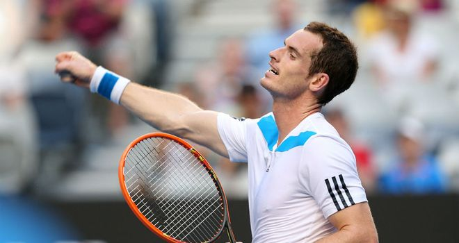 Andy Murray: Wants a quick win against Vincent Millot