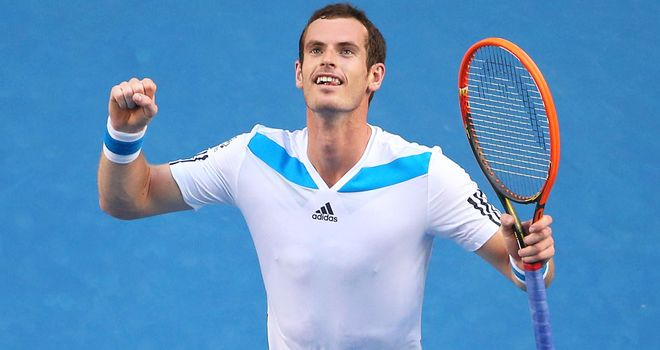 Andy Murray: Faces 267th ranked Vincent Millot in the Australian Open second round