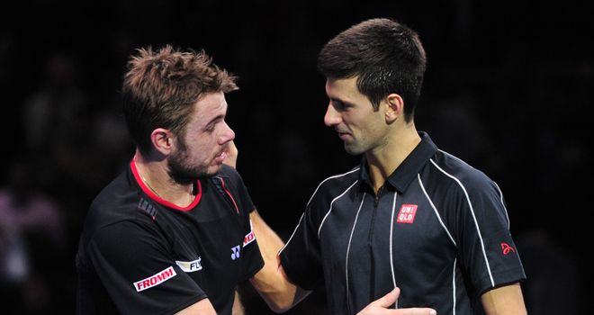 Novak Djokovic has won his last 14 matches against Stanislas Wawrinka