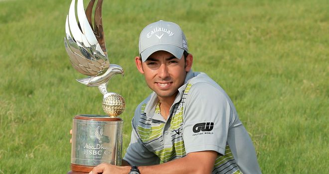 Pablo Larrazabal: Third and most important victory on the European Tour