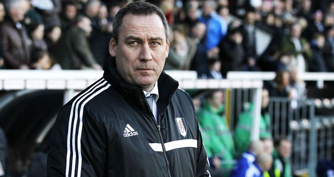 Fulham manager Rene Meulensteen stays positive