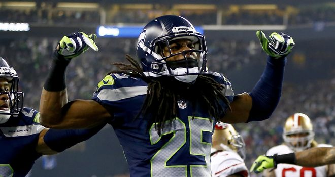 Richard Sherman: Fined for outburst