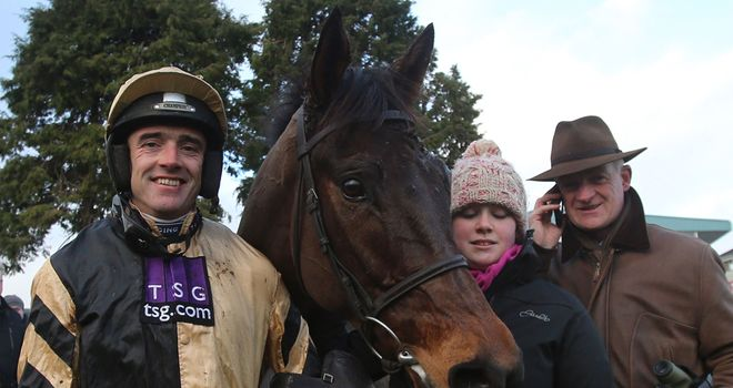 Ruby Walsh will be back on board Tidal Bay