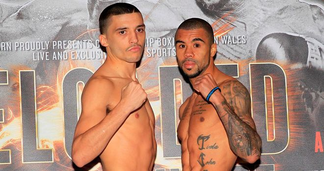 Lee Selby (l): Will battle Rendall Munroe for the vacant European title