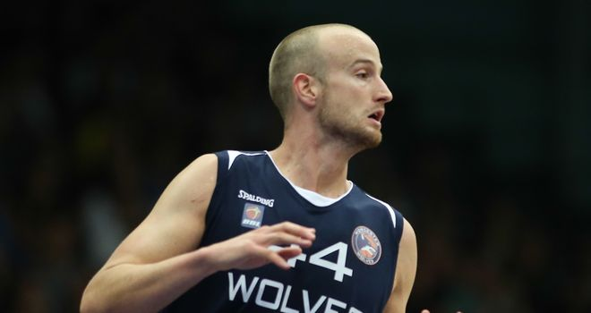 Will Creekmore: Scored 33 points for Worcester Wolves
