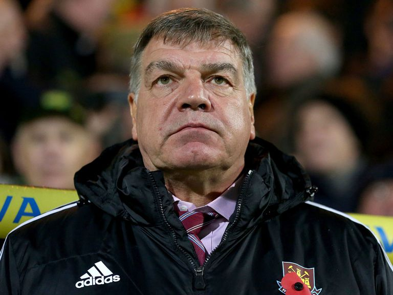 Sam Allardyce: Looking to lift his players for league clash