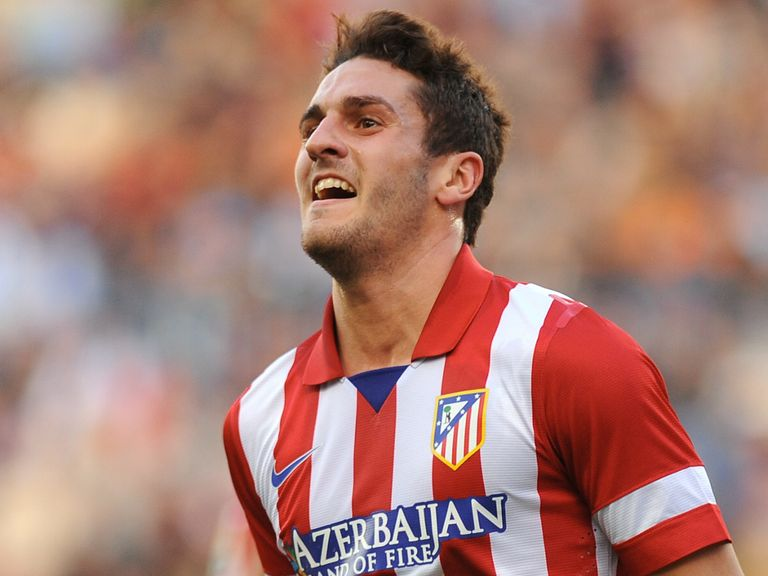 Koke: Signed a new deal which will keep him at Atletico until 2019