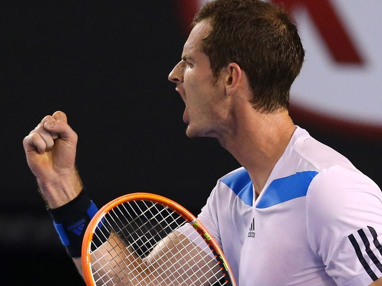 Andy Murray: Progressed to round three
