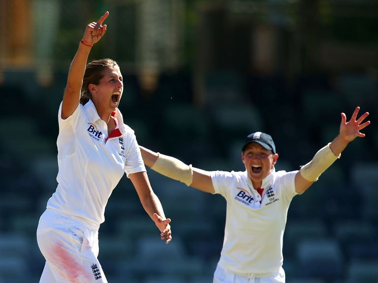 Anya Shrubsole: Took four wickets for England