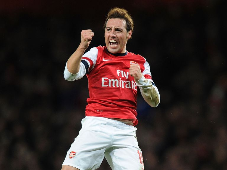 Santi Cazorla set Arsenal on their way to victory