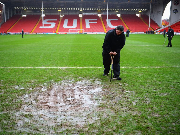 There will be no match at Bramall Lane