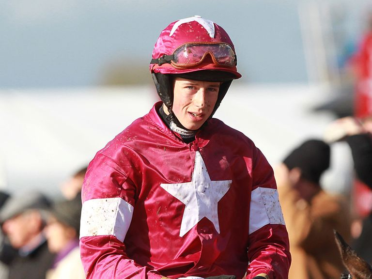 Bryan Cooper broke his leg at Cheltenham on Wednesday
