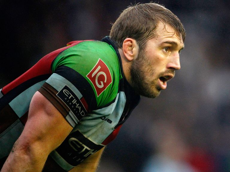 Chris Robshaw: The Harlequins man is set to keep the England captaincy