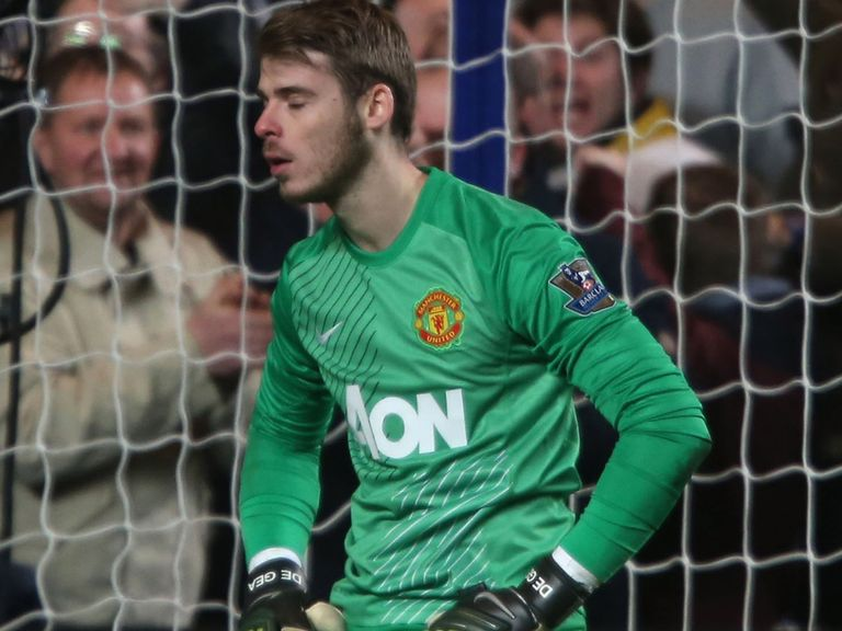 David de Gea: Bad night against Sunderland
