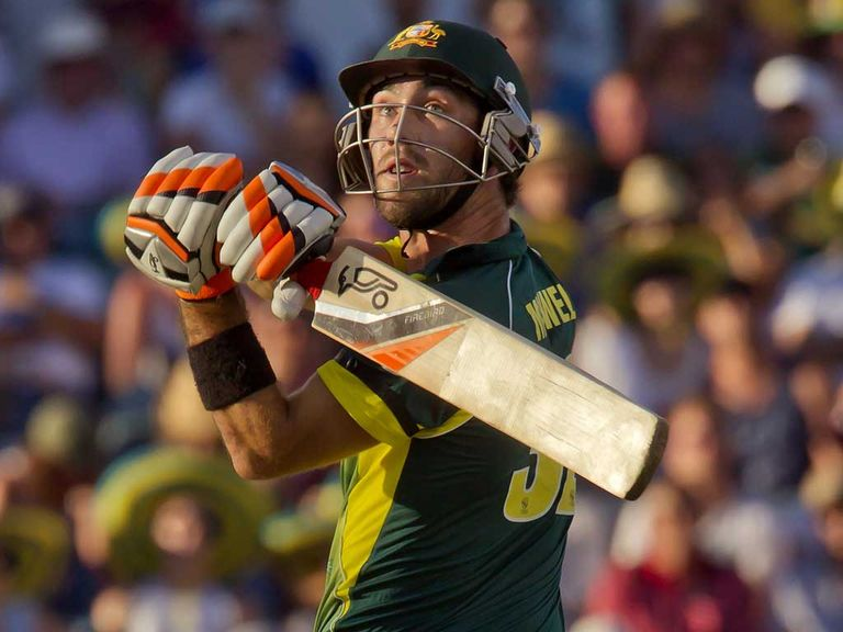 Glenn Maxwell: Shot selection angered Lehmann