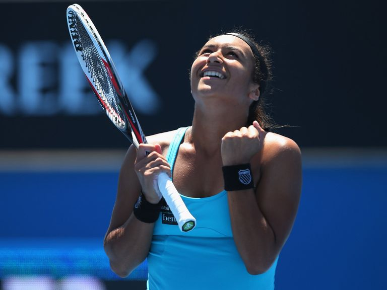 Heather Watson: In the main draw for the Australian Open
