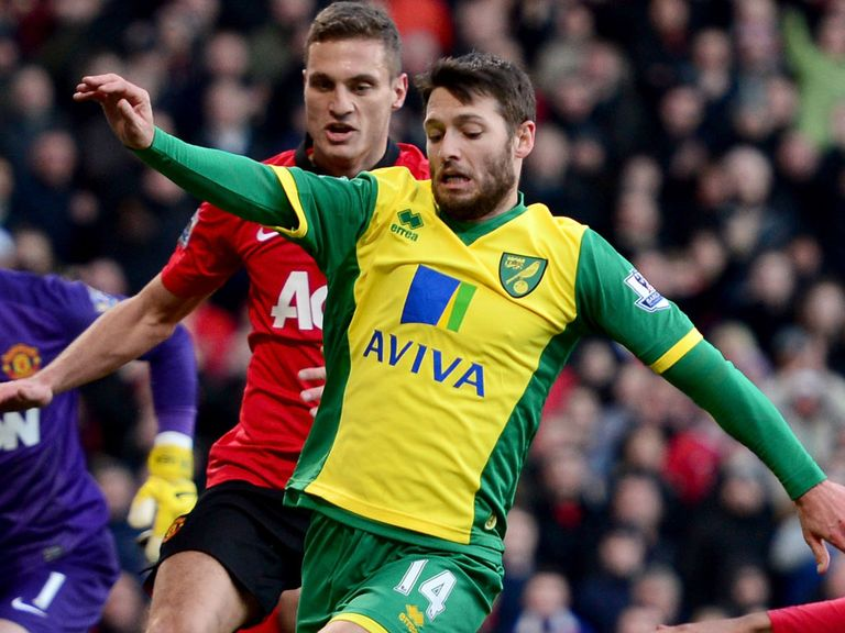 Wes Hoolahan: Staying at Norwich, says Chris Hughton