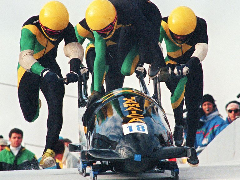 Cool Runnings - the story of Jamaica's bobsleigh team - got Cheeky in trouble