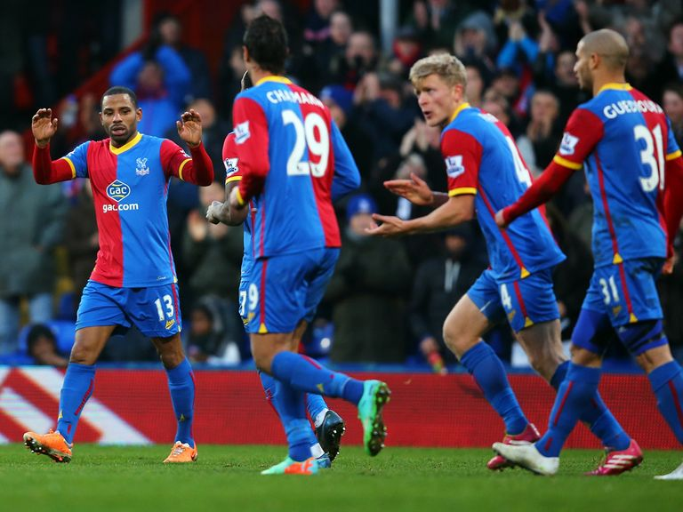 Crystal Palace continued their recovery under Pulis