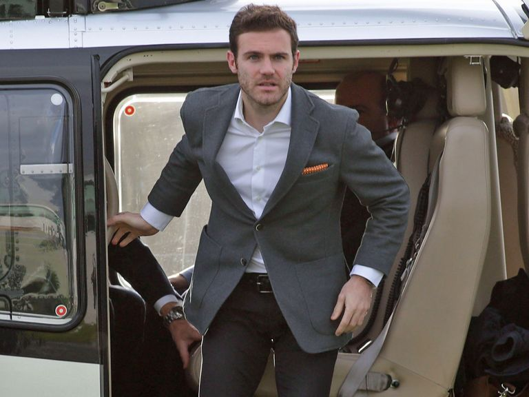 Mata: Aiming for the title at Manchester United