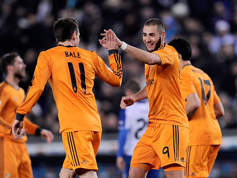 Karim Benzema scored the only goal of the game