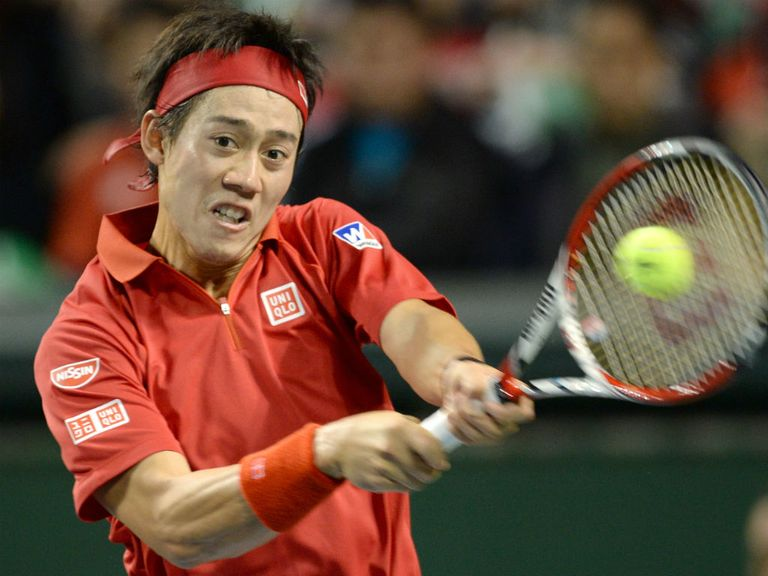 Nishikori: Forced to retire in his game