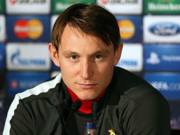 Kim Kallstrom: Suffered an injury in training