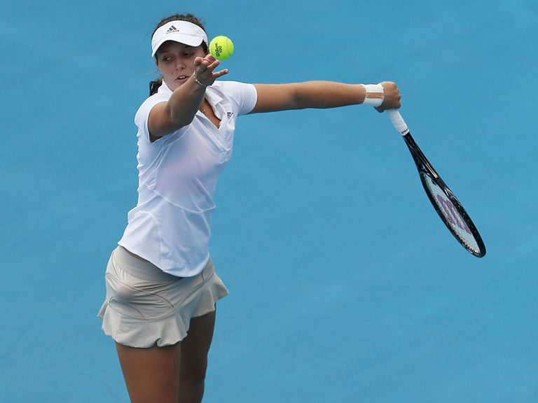 Laura Robson: Drawn to face Kirsten Flipkens in the first round