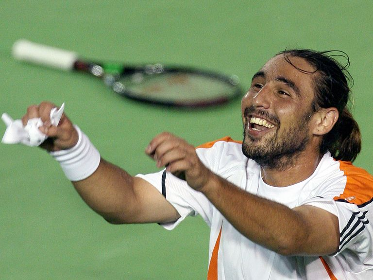 Marco Baghdatis lit up the 2006 Australian Open with a run to the final