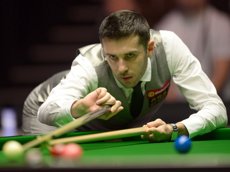 Selby: Will defend his title in the final against O'Sullivan