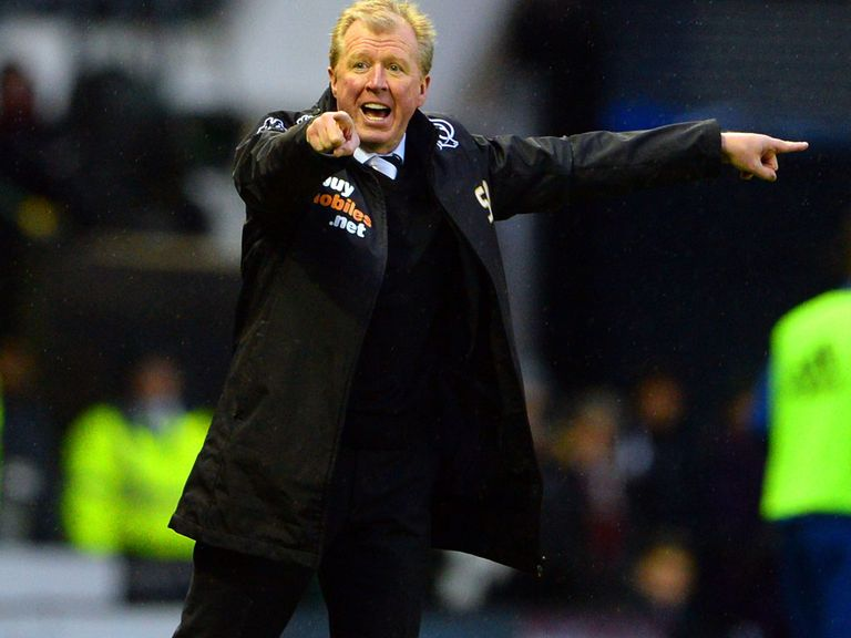 Steve McClaren's Derby host QPR on Monday night