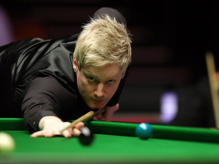 Neil Robertson: Battling a virus in China