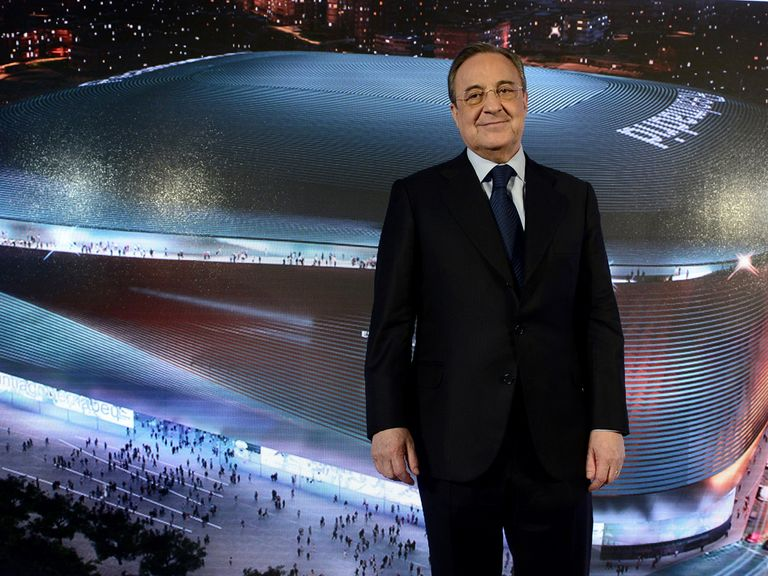 Florentino Perez: Unveiled plans for its redevelopment