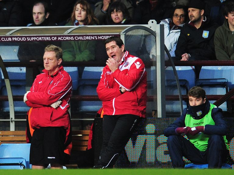 Nigel Clough: Thrilled with his side's FA Cup performance