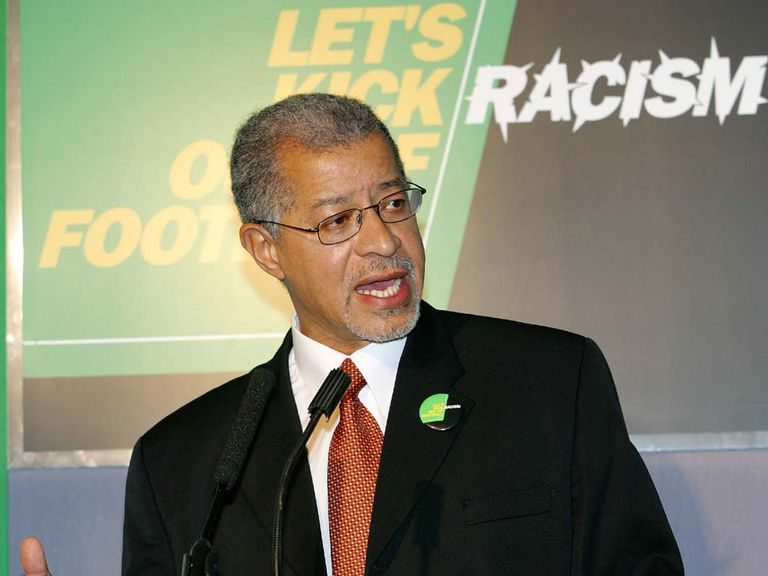 Lord Ouseley: Was speaking at Kick It Out's 20th anniversary dinner