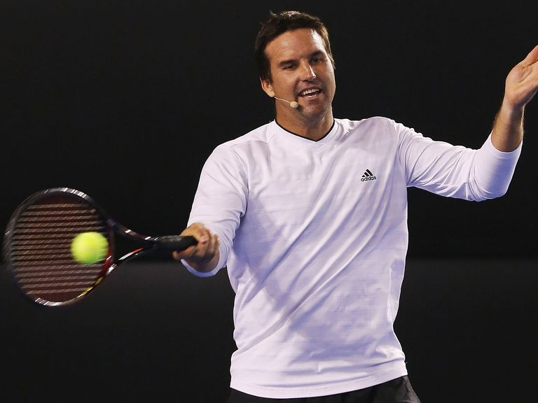 Pat Rafter: Will play doubles in Melbourne