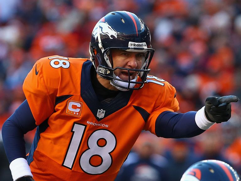 Peyton Manning: Led the Broncos to a narrow win