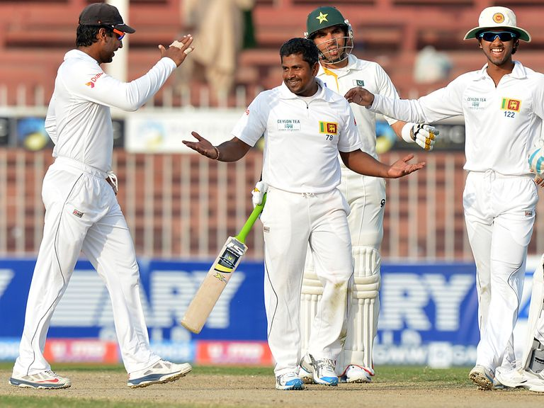Rangana Herath: Took five wickets for Pakistan