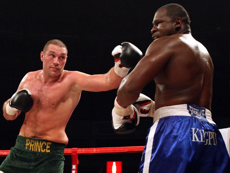 Tyson Fury: Set to return to action next month
