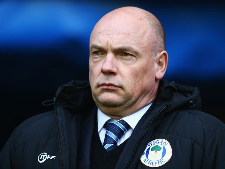 Uwe Rosler: the Wigan boss has used his squad's depth to good effect