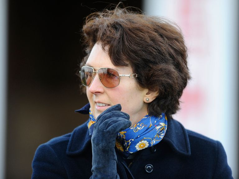Venetia Williams: Has 'a Cheltenham horse' on her hands