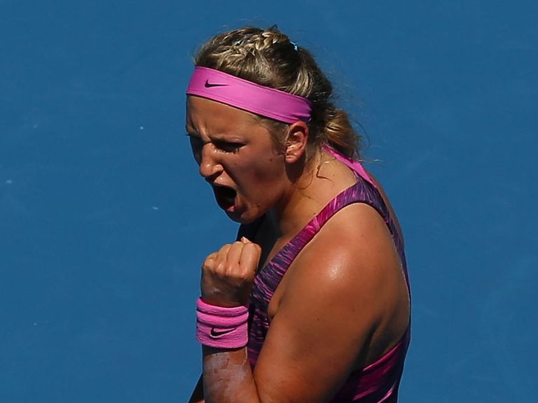 Victoria Azarenka: New favourite to win the Australian Open