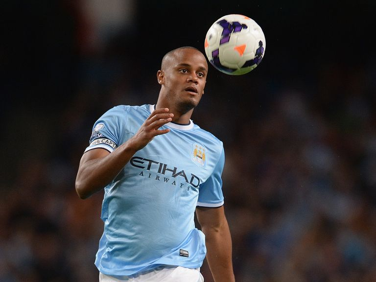 Vincent Kompany: Keeping his focus