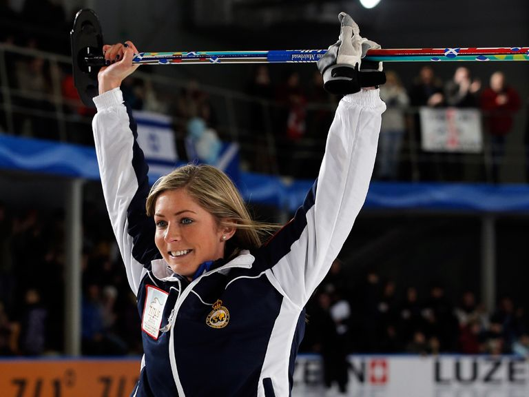 Eve Muirhead: Hoping to clinch a curling gold medal