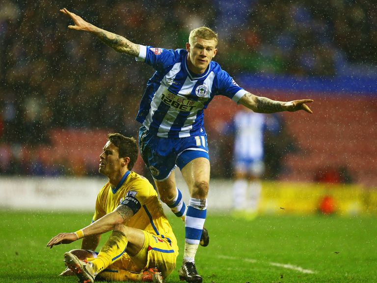 Wigan: Expected to defeat Charlton