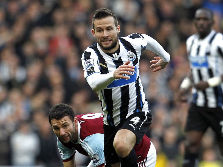 Yohan Cabaye: Close to completing PSG move